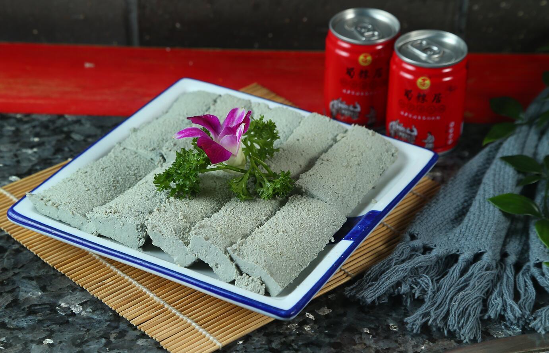 现磨黑豆腐