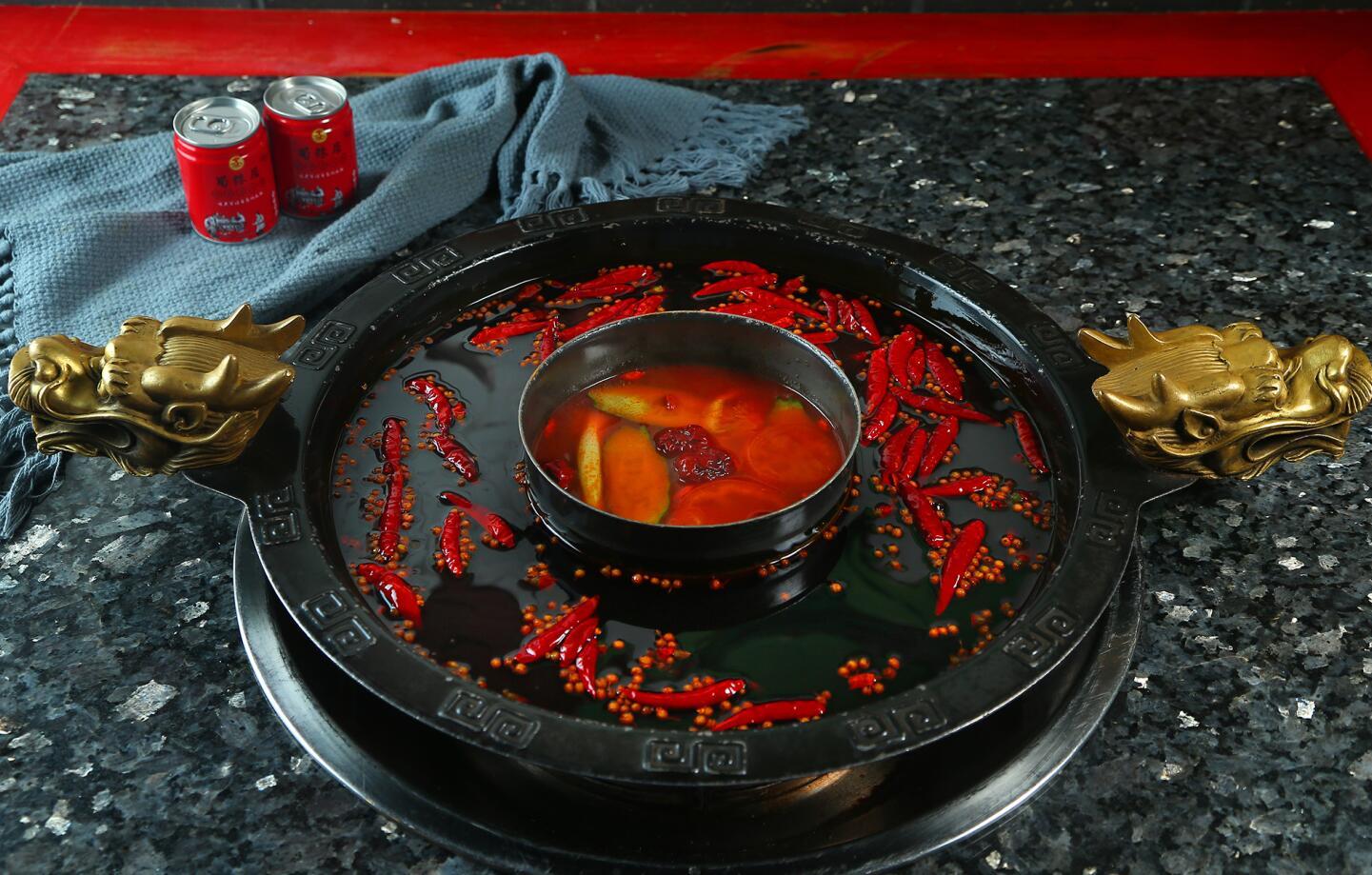牛油鸳鸯锅