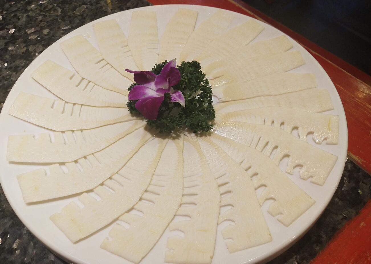 鲜切竹笋片